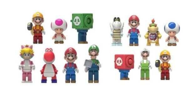 Mario Kart 8 KNEX Figures