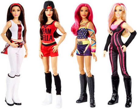 WWE Superstars Girl Dolls