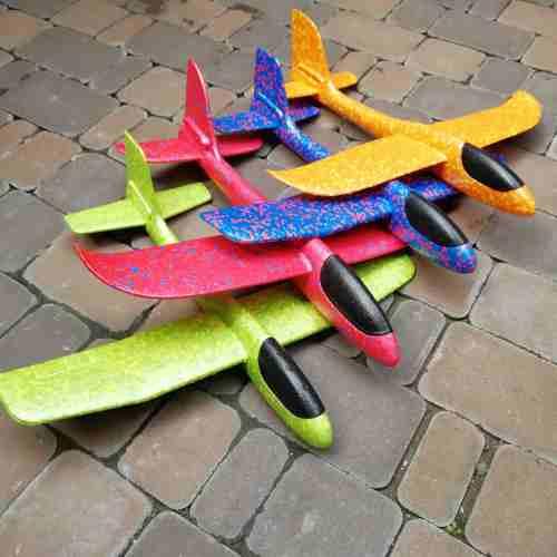 Самолет-планер из пенопласта