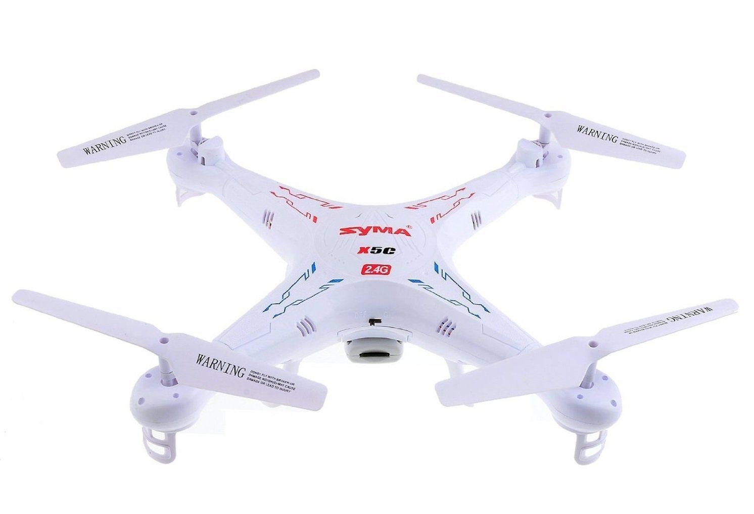 61yasO5d0OL. SL1492  - Syma X5C Explorers 2.4G 4CH 6-Axis Gyro RC Quadcopter With HD Camera