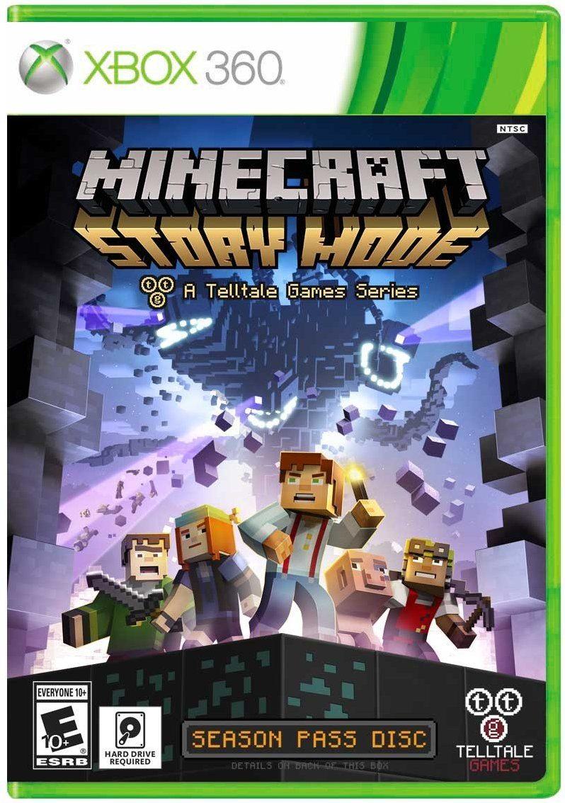 71My2vyzmZL. AC SL1199  - Minecraft: Story Mode - Season Disc - Xbox 360