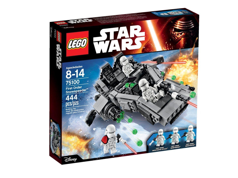 81wW2pr9WEL. SL1500  - LEGO Star Wars First Order Snowspeeder 75100 Building Kit