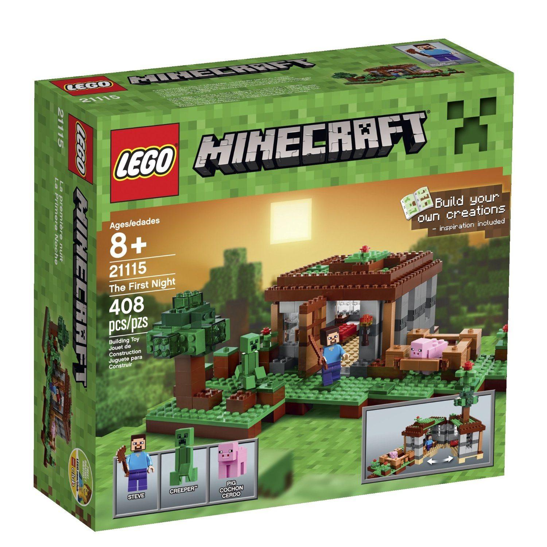 81KLYr6rxlL. SL1500  1 - LEGO Minecraft 21115 The First Night