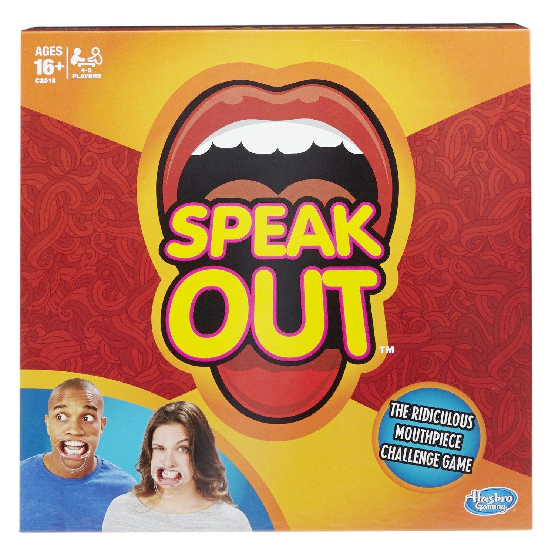 91B7m6 6PnL. SL1500  - Hasbro Speak Out Game