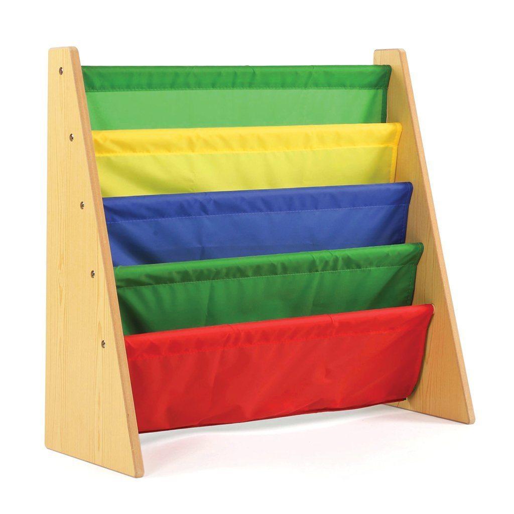 61KwVljeK6L. SL1024  - Tot Tutors Book Rack, Primary Colors