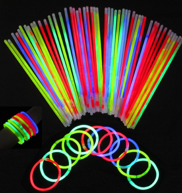 814NBGLZu3L. SL1500  - Glowsticks, Vivii 100 Light up Toys Glow Stick Bracelets Mixed Colors Party Favors Supplies (Tube of 100)