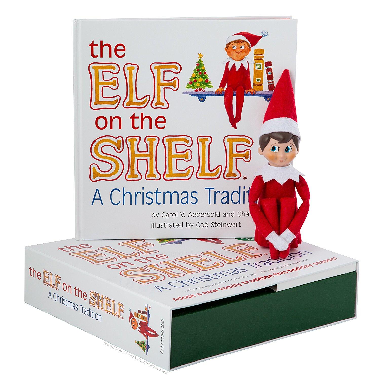 91cKJqgZN8L. SL1500  - Elf on the Shelf:A Christmas Tradition (blue-eyed boy scout elf)
