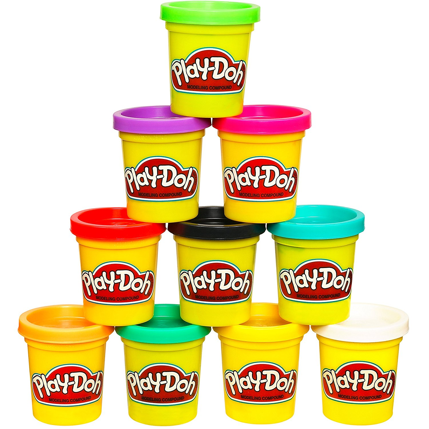 91sUuetY3ML. SL1500  - Play-Doh 10-Pack of Colors (Amazon Exclusive)