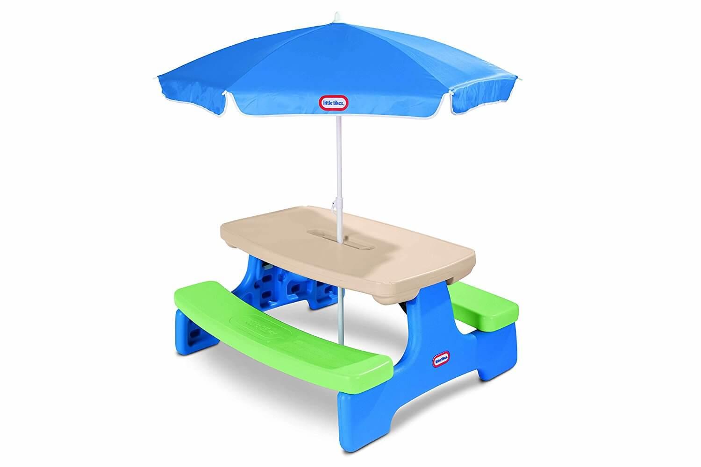 713f2c5f8SL. SL1500  - Little Tikes Easy Store Picnic Table with Umbrella