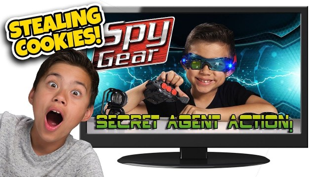 KID USES TOYS TO STEAL COOKIES Kids React to Spy Gear Top 10 Reacting to Old Videos 8 649x365 - A Beginner's Guide To The World Of Video Games