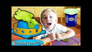 Twist N Squish Turtle Childrens Play Time Toys and Shapes Play Doh Learn Colors HobbyBearTV - Twist N' Squish Turtle! Children's Play Time Toys and Shapes, Play-Doh Learn Colors HobbyBearTV