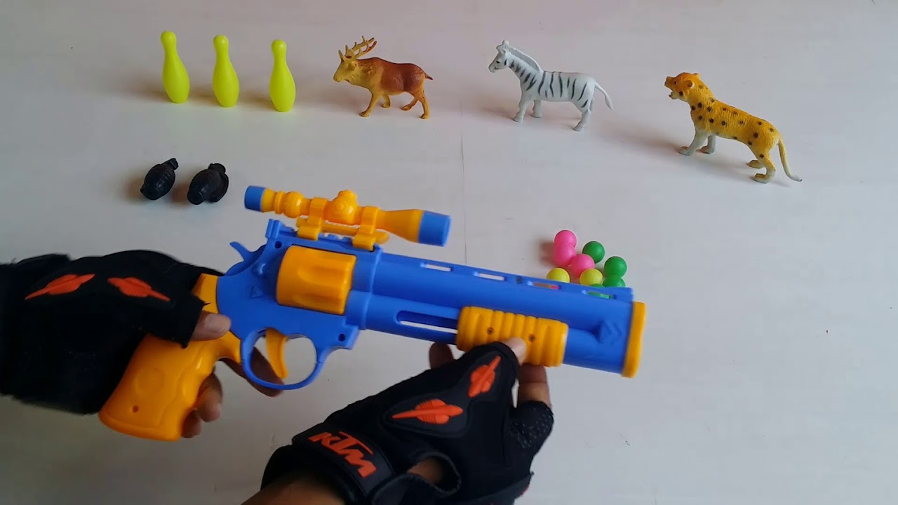 Box of Toys for Kids Fun Toy Guns for Wild Animal - Box of Toys for Kids!! Fun Toy Guns for Wild Animal
