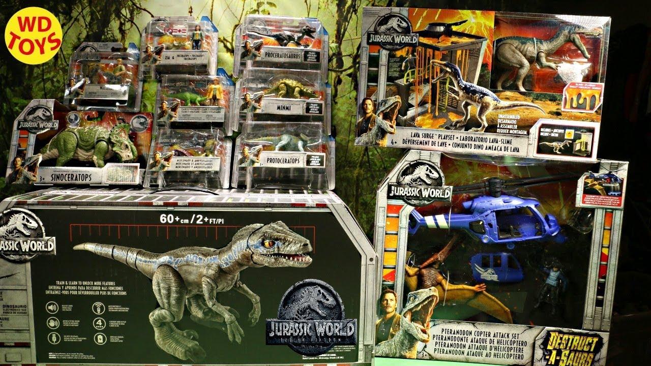 New Giant Box Jurassic World Alpha Training Blue Surprise Fallen Kingdom Mattel Dinosaur Toys - New Giant Box Jurassic World Alpha Training Blue Surprise Fallen Kingdom Mattel Dinosaur Toys