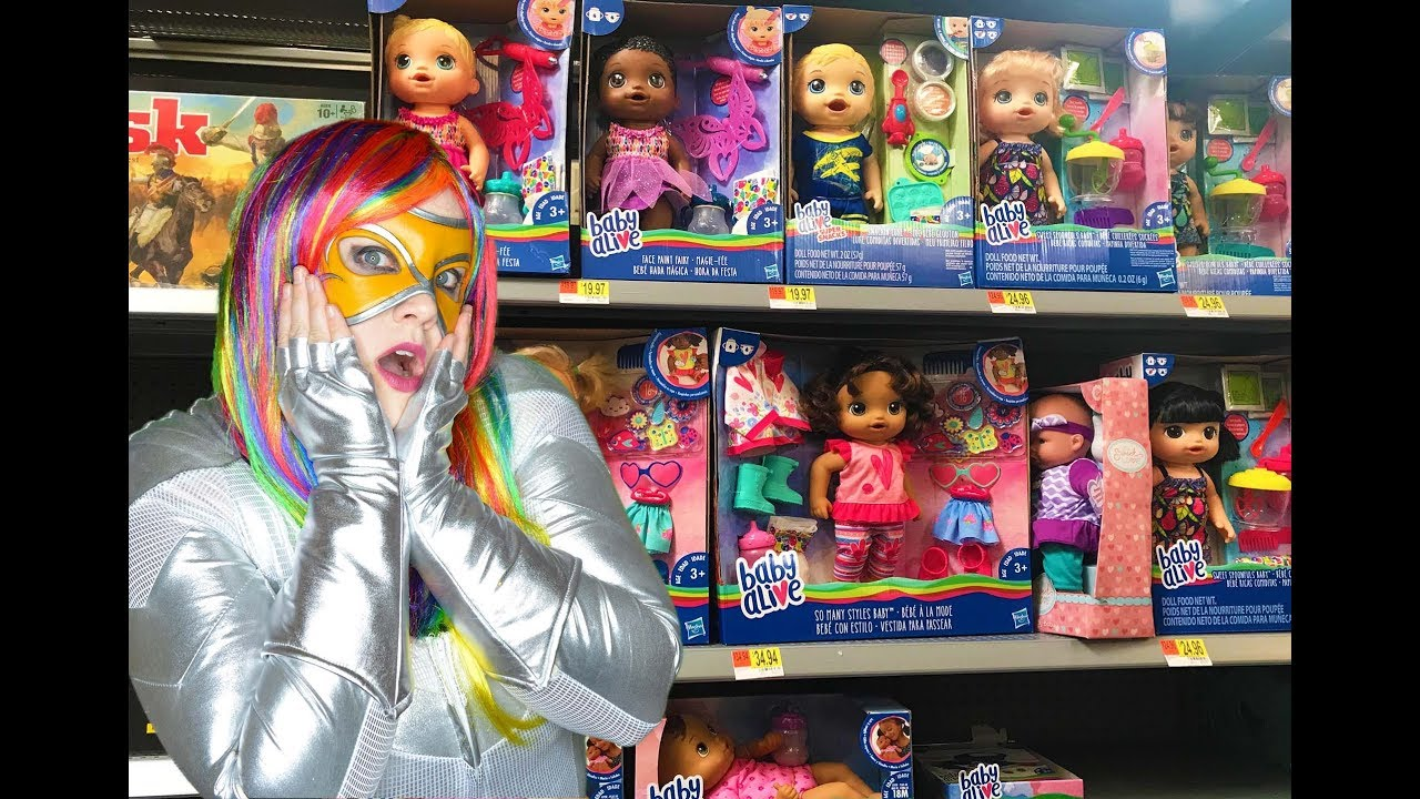 Toy Shopping At Walmart For Baby Alive LOL Dolls - Toy Shopping At Walmart For Baby Alive & LOL Dolls!
