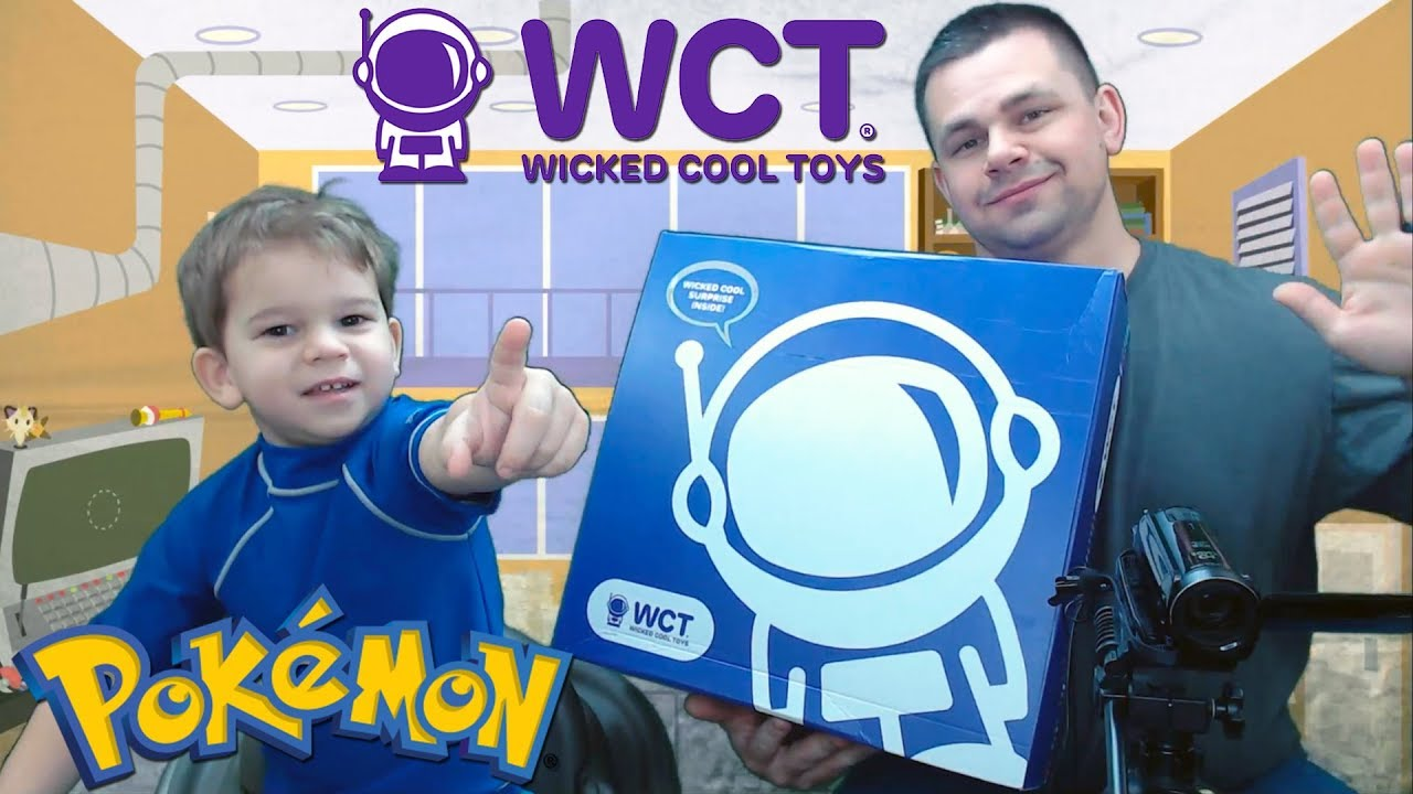 ALL NEW POKEMON TOYS FROM WICKED COOL TOYS - ALL NEW POKEMON TOYS FROM WICKED COOL TOYS!