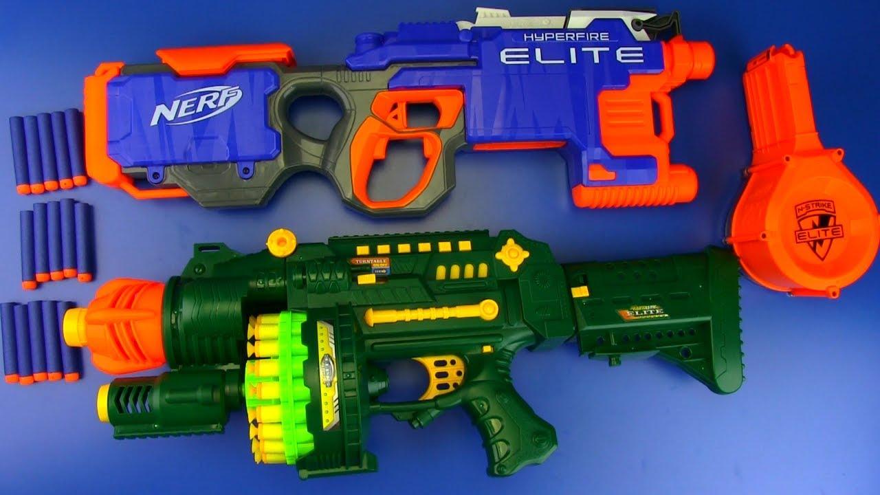 NERF WAR Soft Bullet Guns VS Nerf Guns Box of Toys Toys for Kids - NERF WAR : Soft Bullet Guns VS Nerf Guns ! Box of Toys  - Toys for Kids