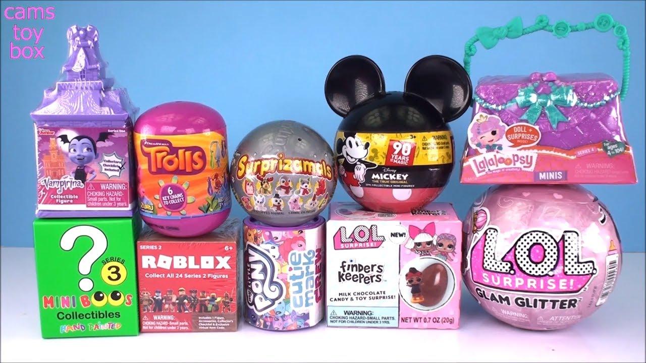 New Surprise Toys Lalaloopsy MINIS LOL Glam Glitter Mickey Mouse My Little Pony Vampirina - New Surprise Toys Lalaloopsy MINIS LOL Glam Glitter Mickey Mouse My Little Pony Vampirina
