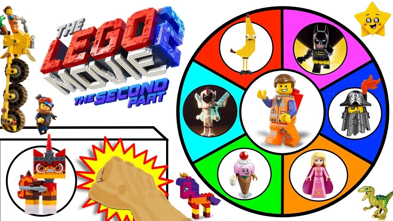 vbp 11927 THE LEGO MOVIE 2 Spinning Wheel Slime Game w LEGO Sets Minifigures Surprise Toys - THE LEGO MOVIE 2 Spinning Wheel Slime Game w/ LEGO Sets, Minifigures + Surprise Toys