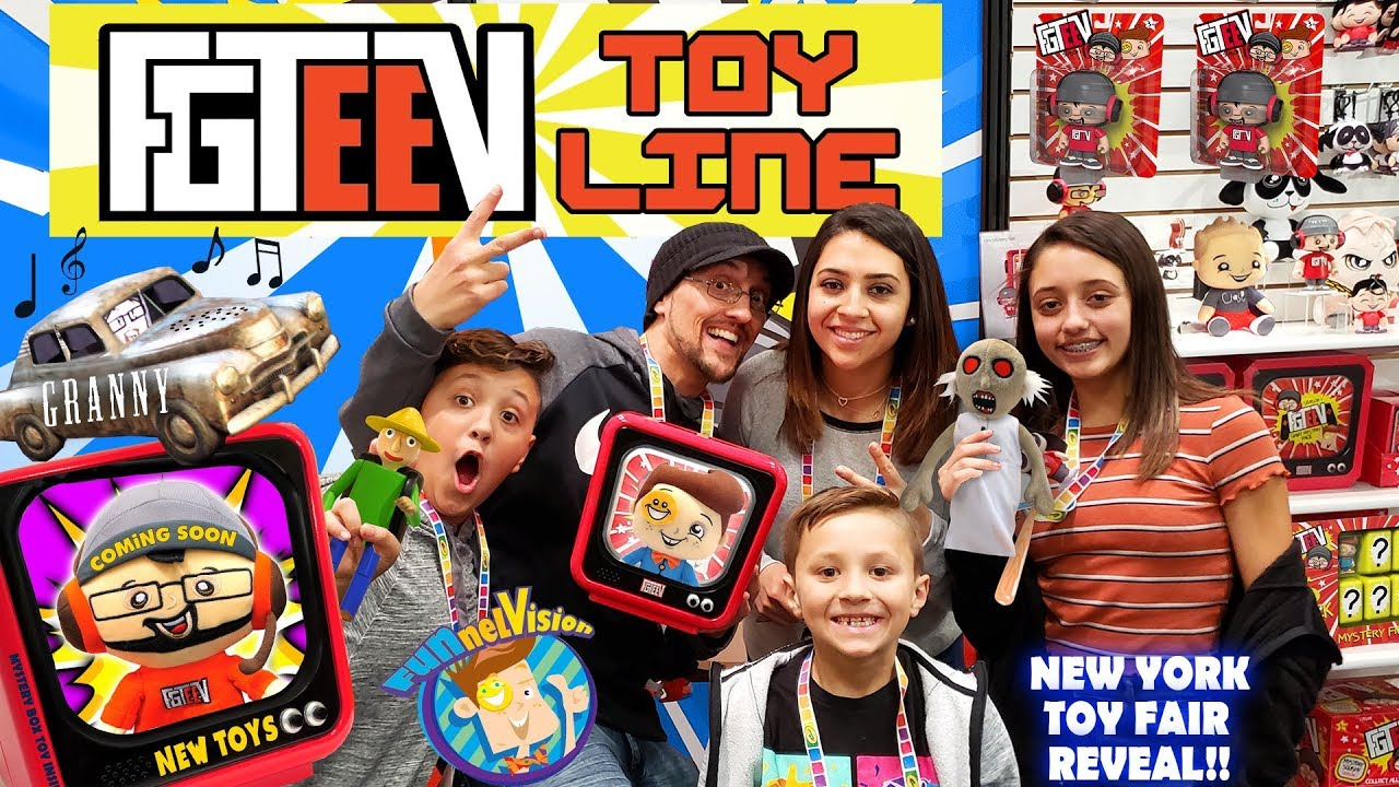 FGTEEV TOYS Grannys House Baldis Basics Huge Reveal FUNnel Fam New York Toy Fair Vlog - FGTEEV TOYS!! Granny's House & Baldis Basics Huge Reveal (FUNnel Fam New York Toy Fair Vlog)