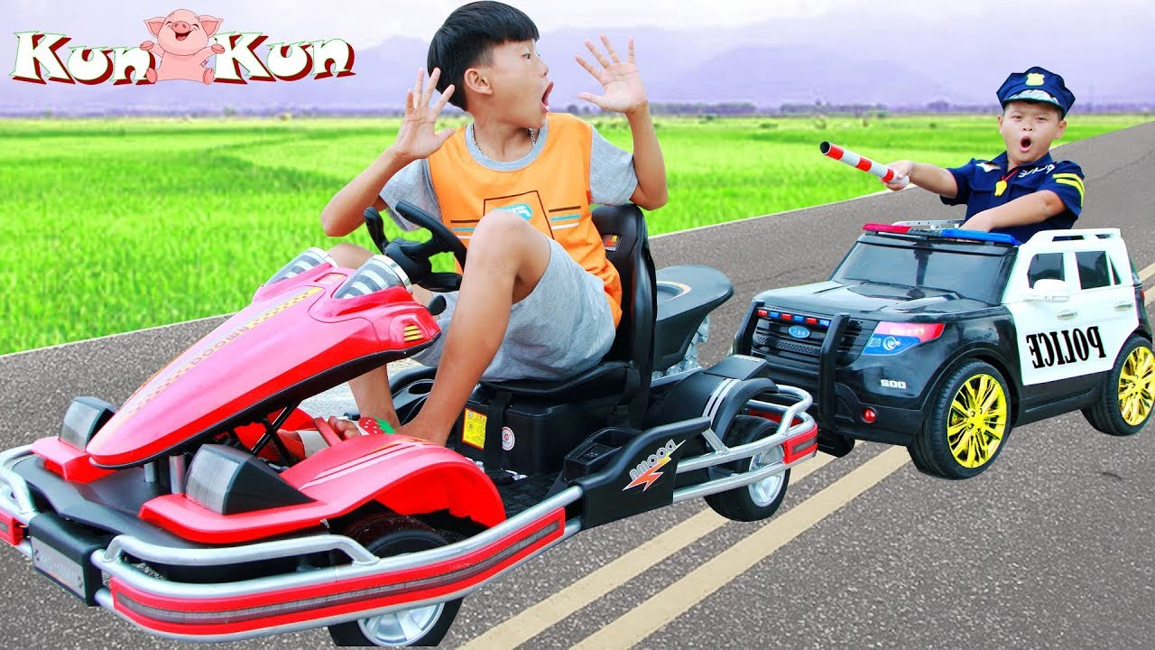 KunKun Pretend Play Police Car Ride on Toys Selling for Kids - KunKun Pretend Play Police Car Ride on Toys Selling for Kids