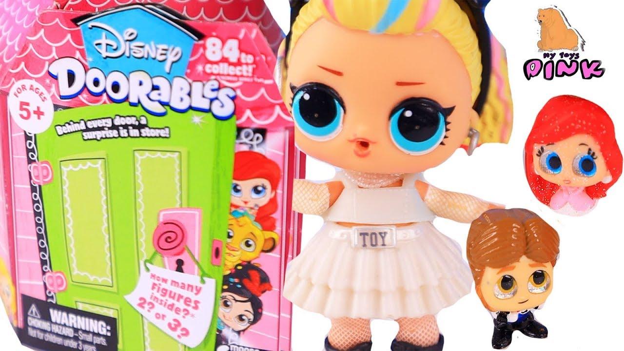 vbp 12068 DISNEY DOORABLES Toys  - КУКЛА ЛОЛ ПРОПАЛА В ДВЕРКАХ! DISNEY DOORABLES Toys + Куклы ЛОЛ Видео для Детей с Май Той Пинк