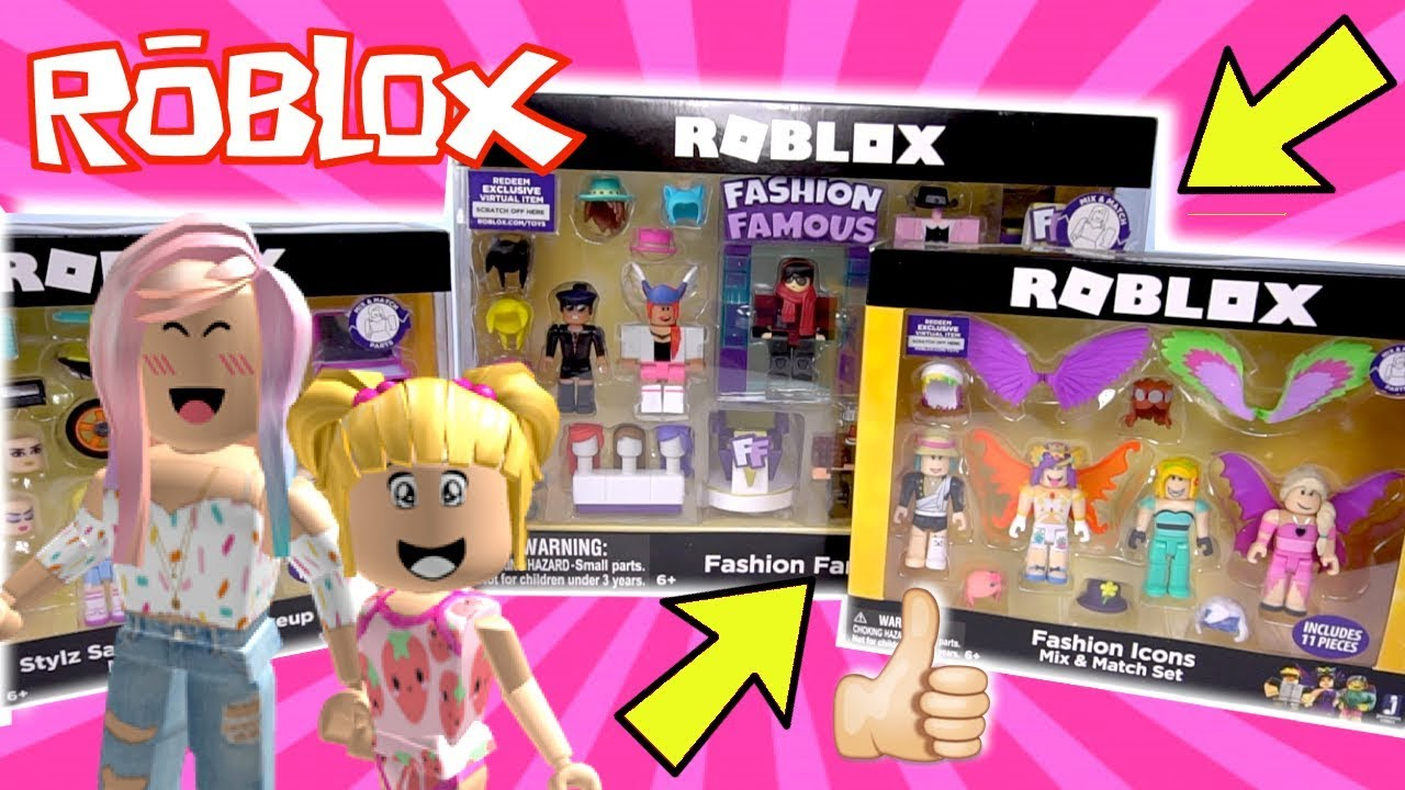 Playing Roblox In Real Life with Awesome Toys Fashion Famous Style Salon - Playing Roblox In Real Life with  Awesome Toys ! Fashion Famous Style Salon!