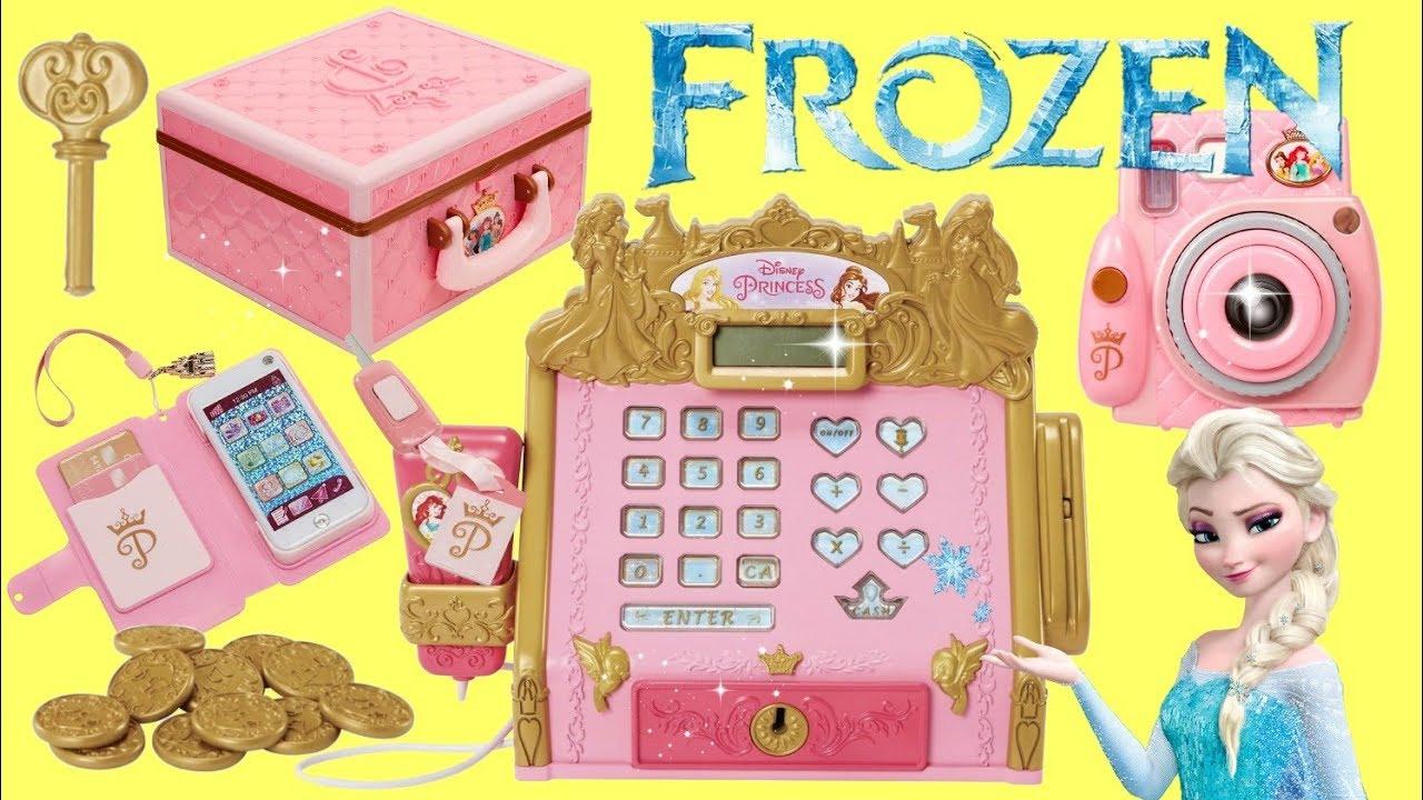 Disney Princess Style Collection Frozen Elsa and Anna Shopping Adventure - Disney Princess Style Collection Frozen Elsa and Anna Shopping Adventure