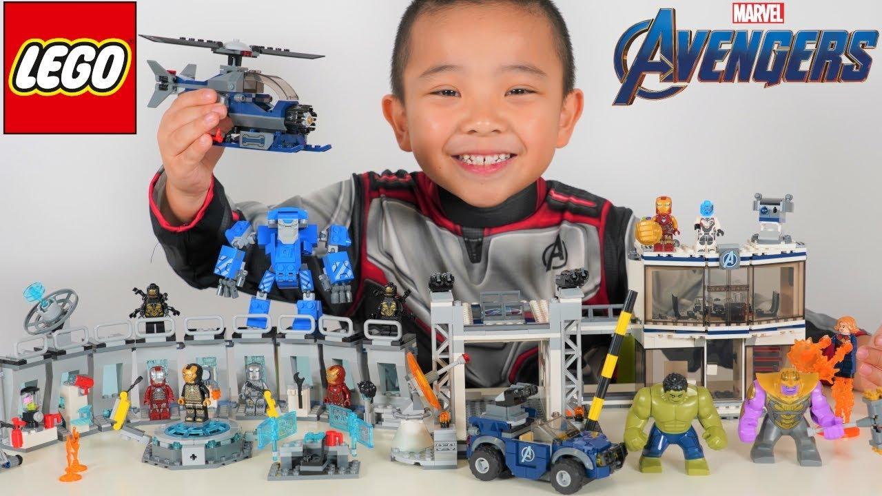 LEGO Avengers Endgame Epic Battle With Thanos CKN Toys - LEGO Avengers Endgame Epic Battle With Thanos CKN Toys