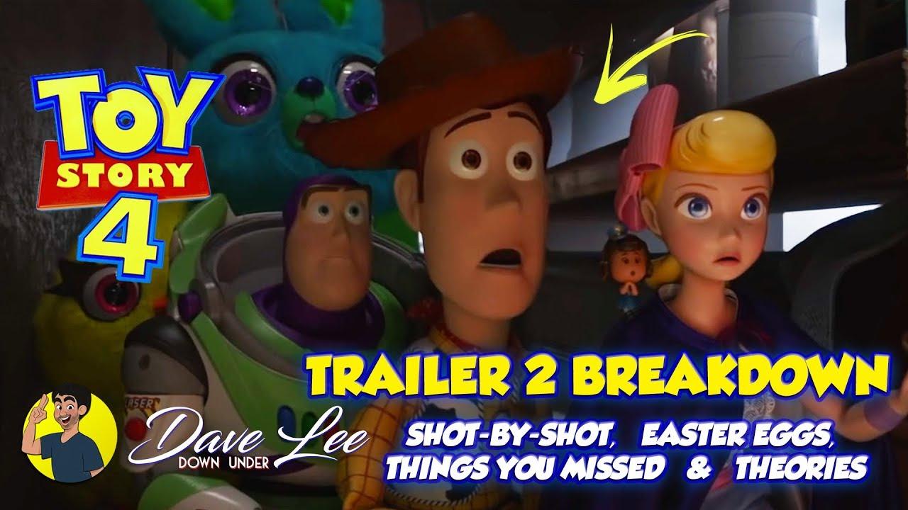 TOY STORY 4 Trailer 2 Breakdown Easter Eggs Things You Missed Explained - TOY STORY 4 - Trailer 2 Breakdown, Easter Eggs, Things You Missed Explained