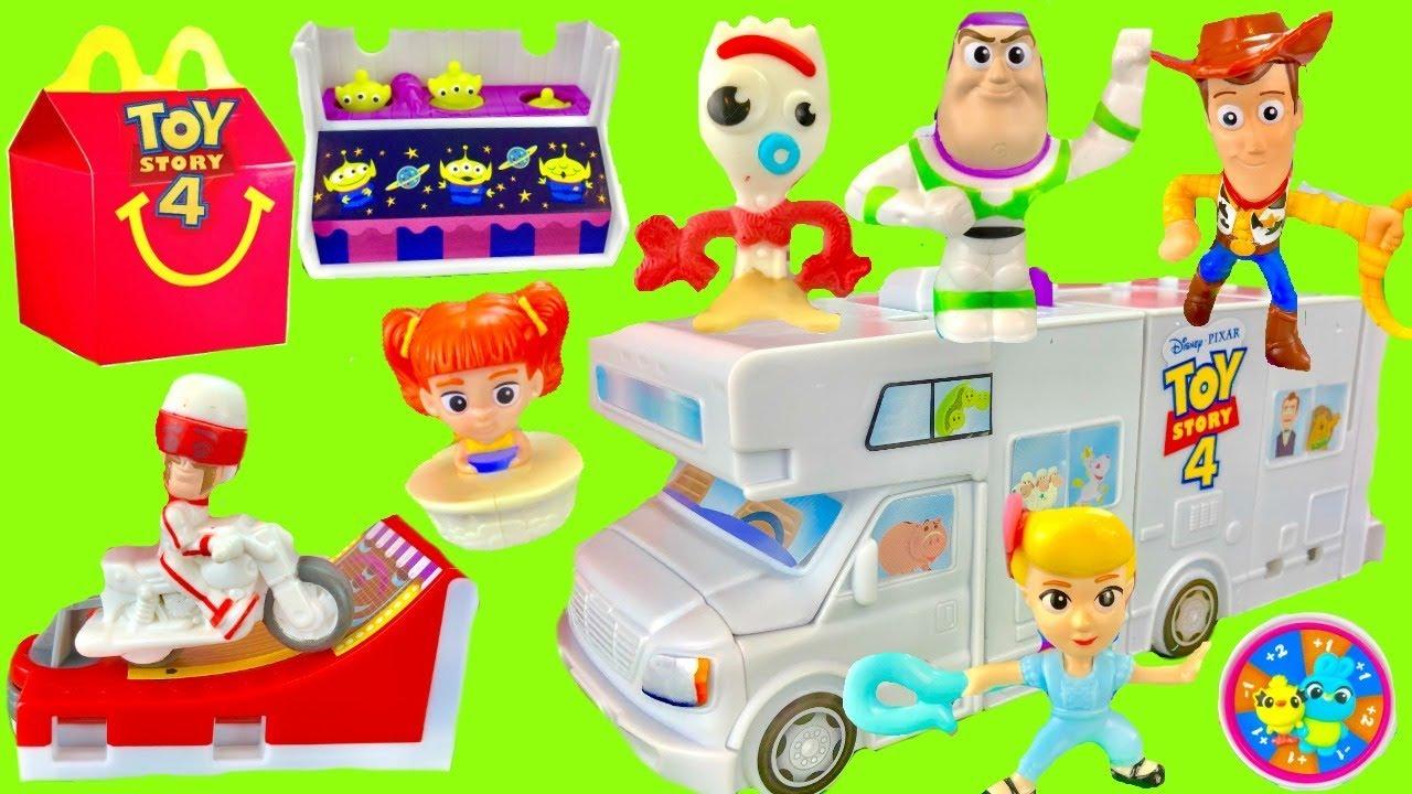 Disney Pixars Toy Story 4 Full Set of 2019 McDonalds Happy Meal Toys - Disney Pixar's Toy Story 4 Full Set of 2019 McDonald's Happy Meal Toys