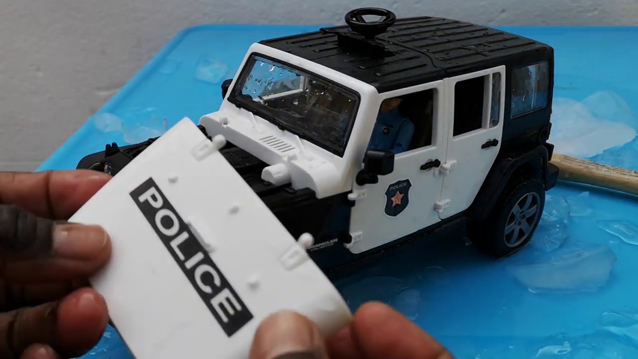 Toys Police Car Assembly Build police station Triggers Relax Play Toys for Kids ASMR Ice Frozen - Toys Police Car Assembly, Build police station, Triggers, Relax ,Play, Toys for Kids ASMR Ice Frozen