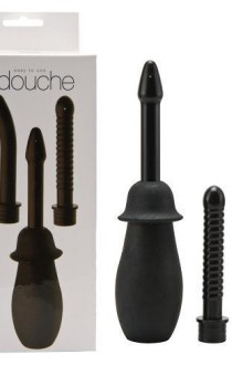 DOUCHE ANAL KIT - 3 ATTACHMENTS ** BACK IN STOCK **