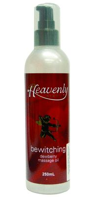 MASSAGE OIL HEAVENLY 250m BEWITCHING