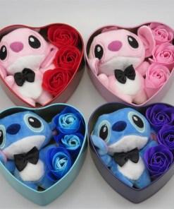 ilo stitch flower gift box birthday valentines day