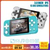 Data Frog Retro Handheld Game Console  inch IPS Screen Dual Open System