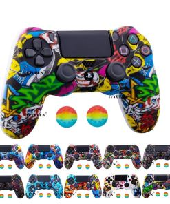 IVYUEEN  Colors Silicone Camo Protective Skin Case For Sony Dualshock  P