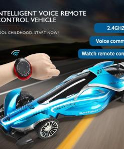 New  G Intelligent Speech RC Car Voice Watch Remote Control Off road Racing Car