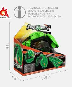 Transforming Vehicle TerraSect  Fall Grrrumball  Fall  GHZ Remote Control TOTY FINALIST REWARDS Electric