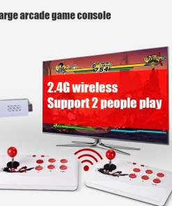 Wireless Arcade Video Game Console TF Card Extend Can Add Game HDMI compatible Double Controller Game