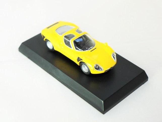 Kyosho 1-64 Alfa Romeo Col 2 - Tipo 33 Stradale YLW - 04