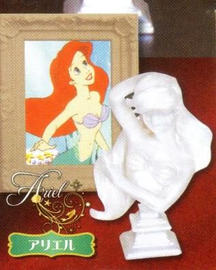 Tomy ARTS Disney Princess Bust Statue Col Carebrille - Ariel - 1