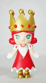 Pop Mart Kennyswork MOLLY CHESS CLUB CHECKMATE QUEEN RED 01