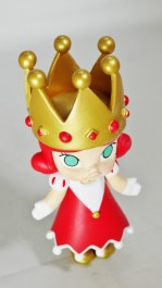 Pop Mart Kennyswork MOLLY CHESS CLUB CHECKMATE QUEEN RED 02