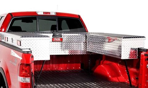 truck tool boxes ladder racks truck