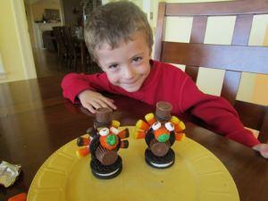 Thanksgiving dessert for kids