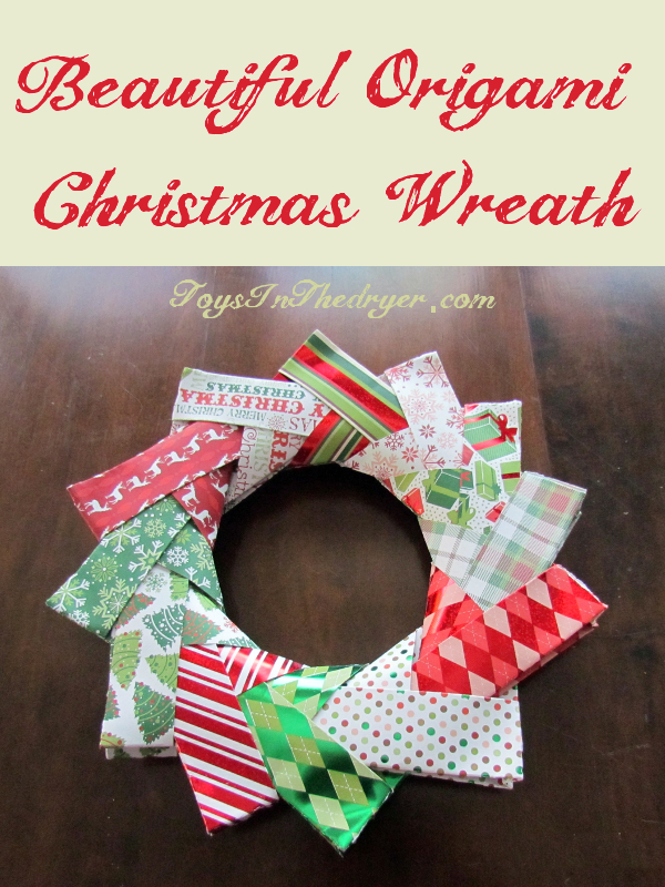 Origami Christmas Decorations – Origami Wreath | | 800x600