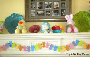 Peeps, Easter, Bunnies, Bunny Bunting, Easter Decorations