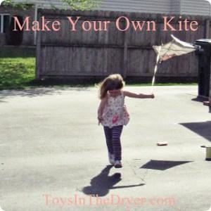 make your own kite, kites, kids activities, kids crafts