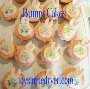 Easter treats, Easter desserts, Bunny cupcakes