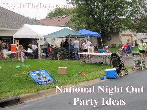 National Night Out Party Ideas